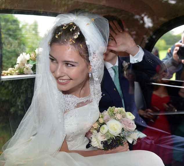 هزینه 8 میلیون پوندي جشن ازدواج يك پسر و يک دختر ترکتبار + تصاوير