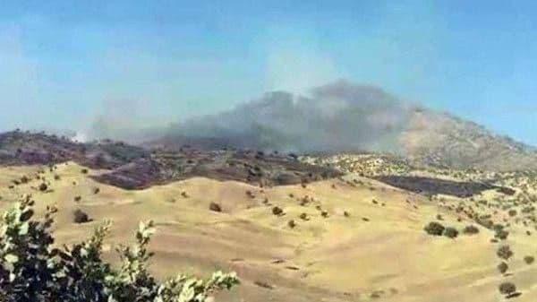 حمله هوایی سپاه به مقرات گروهک های تروریستی حزب دموکرات